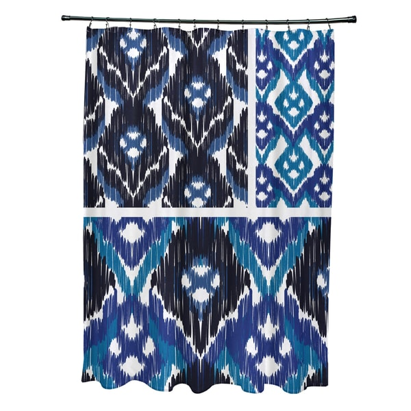 71 x 74-inch Free Spirit Geometric Print Shower Curtain