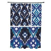71 x 74-inch Free Spirit Geometric Print Shower Curtain