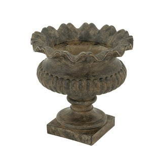 18-inch Earthy Grey Urn Planter