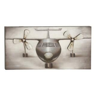 canvas 285inch x 55inch x 56inch airplane wall art