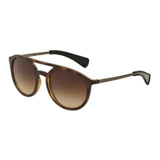 D&G Men's DG6101 302813 Havana Plastic Round Sunglasses https://ak1.ostkcdn.com/images/products/11916436/P18807762.jpg?impolicy=medium
