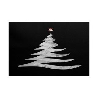 Wishing Tree Geometric Print Indoor/ Outdoor Rug (5' x 7')