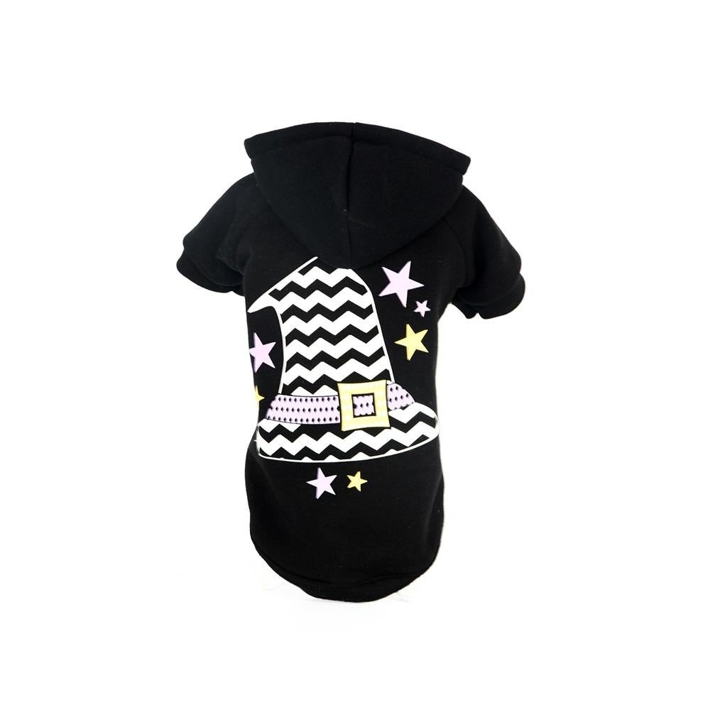 Petlife LED Lighting Magical Hat Hooded Sweater Pet Costu...