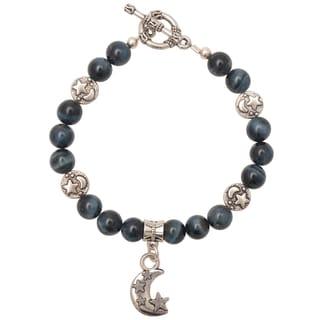 Healing Stones for You Hawks Eye Celestial Bracelet
