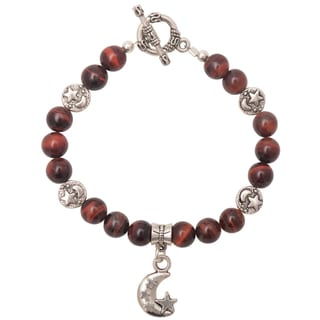 Healing Stones for You Red Tiger Eye Celestial Bracelet
