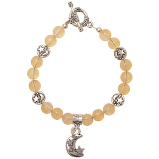 Healing Stones for You Citrine Celestial Bracelet