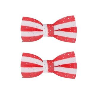 Anima Animal Accessories Glitter Stripe Dog Bow