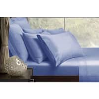 Malibu Solid Color Satin Sheet Set