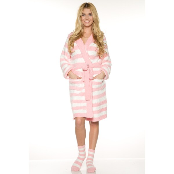 5caebd7360a Shop Rhonda Shear Women s Red Pink Off-white Polyester Marshmallow ...