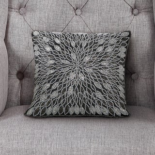 Echelon Home Lindsay Beaded Decorative Pillow