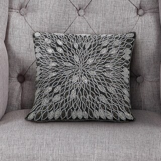 Echelon Home Lindsay Beaded Decorative Pillow