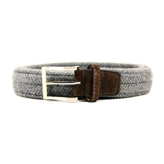 Zerbini Women's Grey Textile Belt