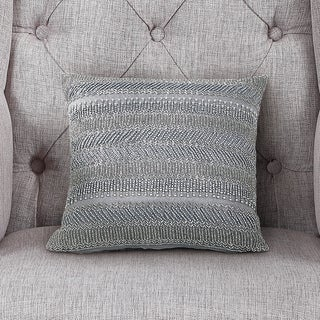 Echelon Home Lauren Beaded Decorative Pillow