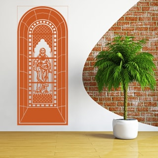 Church Window Vinyl Art Wall Decal