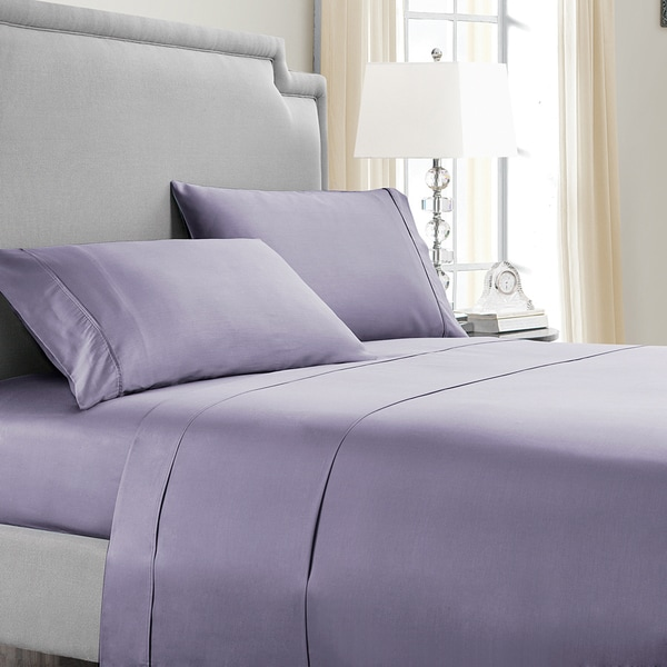 VCNY Home 300 Thread Count Solid Color Sheet Set