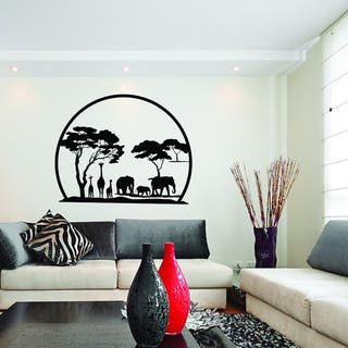 African Panorama Vinyl Art Wall Decal|https://ak1.ostkcdn.com/images/products/11916712/P18808015.jpg?impolicy=medium