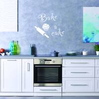 Bake a Cake Wall Decal