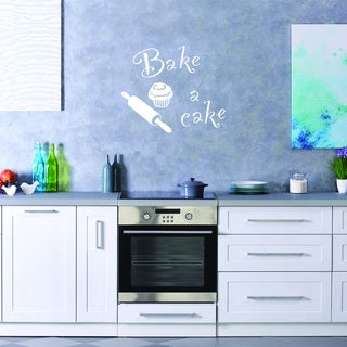 Bake a Cake Wall Decal