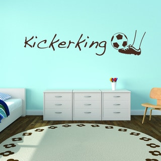Kicker King Vinyl Art Wall Decal