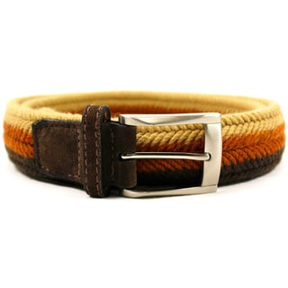Zerbini Women's Brown Textile 43-inch Belt