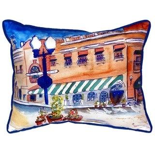 Canal Street 16-inch x 20-inch Indoor/Outdoor Throw Pillow
