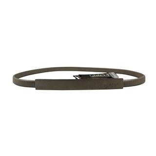 Gianfranco Ferr Women's Silver Metal Belt