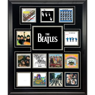 The Beatles UK Album Discography Collage
