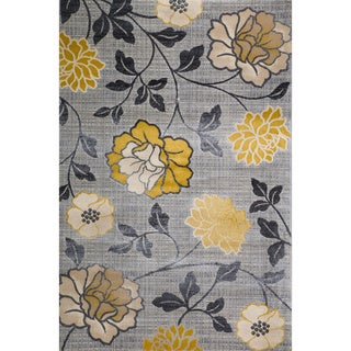 Christopher Knight Home Vita Harley Silver Floral Rug (8' x 10')