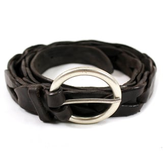 Orciani Women's Brown Leather Belt