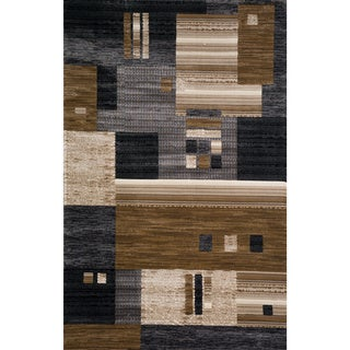 Christopher Knight Home Veronica Hope Black Scatter Rug (2' x 3')