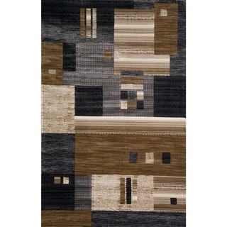 Christopher Knight Home Veronica Hope Black Rug (3' x 5')