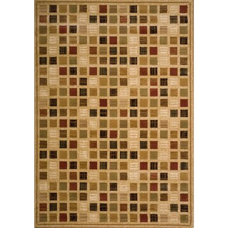 Christopher Knight Home Yetta June Brown Check Rug (8' x 11')