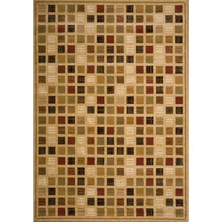 Christopher Knight Home Yetta June Brown Check Rug (5' x 8')