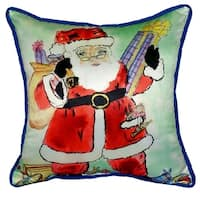 Santa 22-inch x 22-inch Throw Pillow