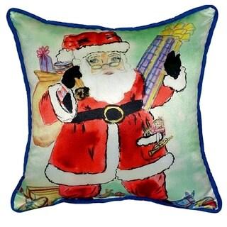 Santa 22-inch x 22-inch Throw Pillow