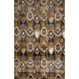 Christopher Knight Home Veronica Hagar Brown Abstract Rug (5' x 8')