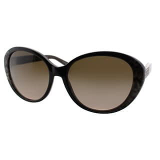 Michael Kors Women's Puerto Banus Brown Snake Plastic Cat-eye Sunglasses