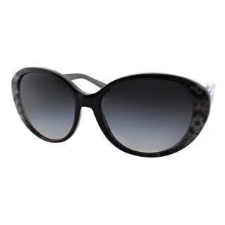 Michael Kors Women's Puerto Banus MK 6012 302011 Grey Snake Plastic Cat Eye Sunglasses