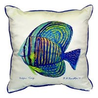 Sailfin Tang 18-inch x 18-inch Throw Pillow