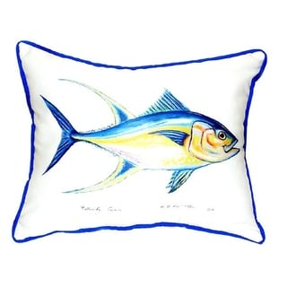 Tuna Multi-color Polyester Indoor, Outdoor Throw Pillow