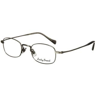 Lucky Brand Miles Silver Metal Reading Glasses