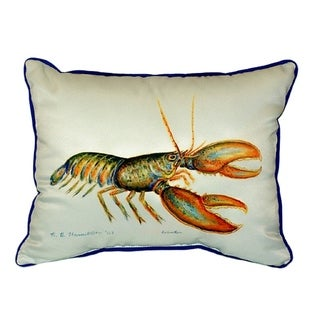 Lobster 16-inch x 20-inch Throw Pillow