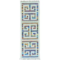 Multicolor Flat Weave Kilim Runner Cotton and Sari Silk Rug