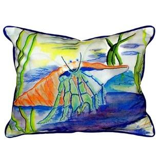 Hermit Crab 16-inch x 20-inch Throw Pillow