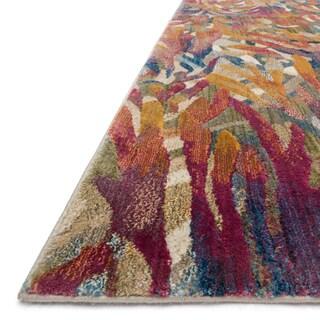 Phaedra Abstract Tropical Rug (6'7 x 9'2)