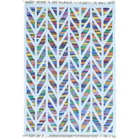 Multicolor Cotton and Sari Silk HandWoven Colorful Kilim Oriental Rug (4'10 x 6'10)