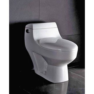 Seattle TB109 White Ceramic Eco-friendly Toilet