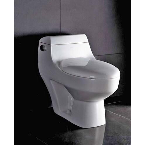 Shop Seattle Tb109 White Ceramic Eco Friendly Toilet
