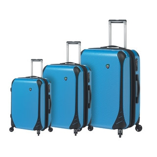 Mia Toro Italy Fibre Di Carbonio Largo 3-piece Hardside Spinner Luggage Set