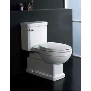 Everett White Ceramic Eco-friendly Toilet